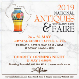 FINDING HIDDEN TREASURES AT THE MALL OF AFRICA'S NEW ANTIQUE FAIRS