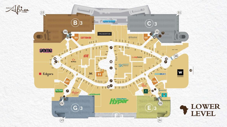 Level 3 Shopping & Parking Plan