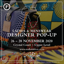 Best of SA Designer Fashion to Pop Up at Mall of Africa In November