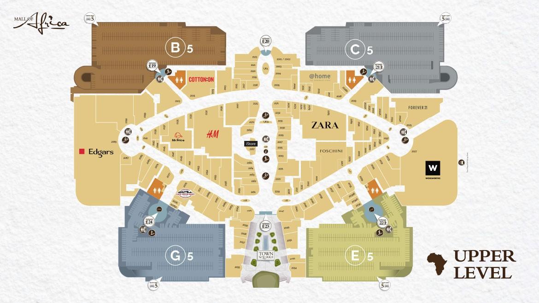 Level 5 Shopping & Parking Plan
