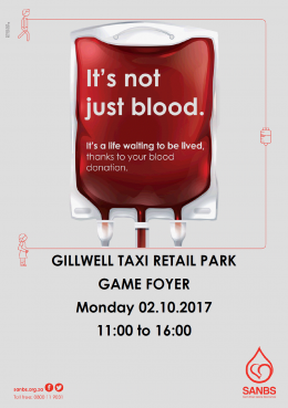 Blood Drive at Gillwell Taxi Retail Park