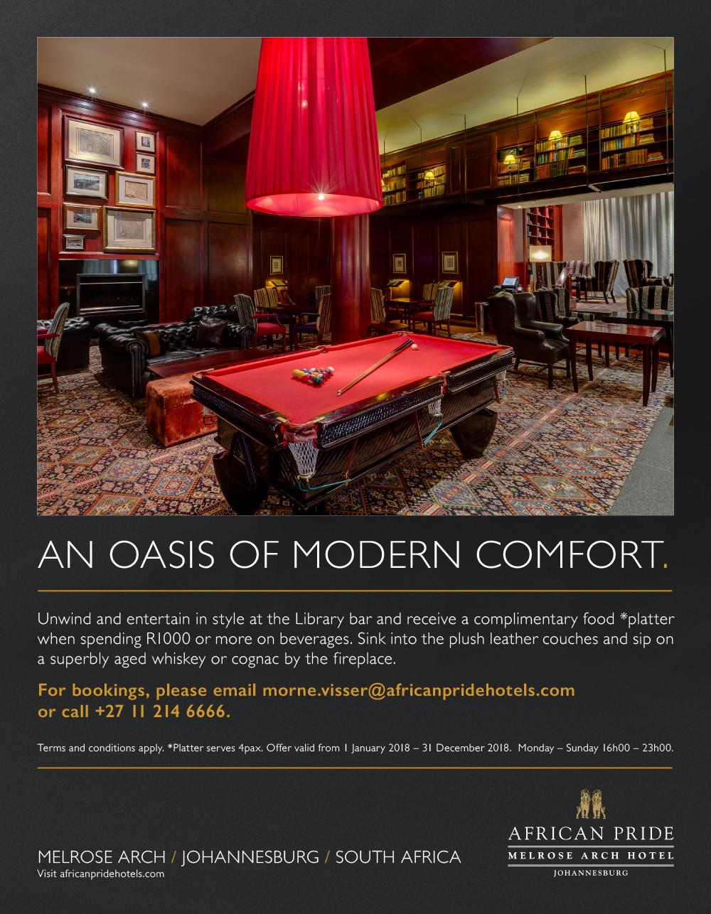 An Oasis of Modern Comfort
