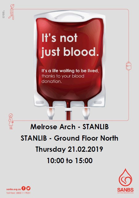SANBS Blood Drive