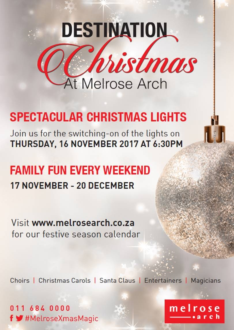 Christmas at Melrose Arch