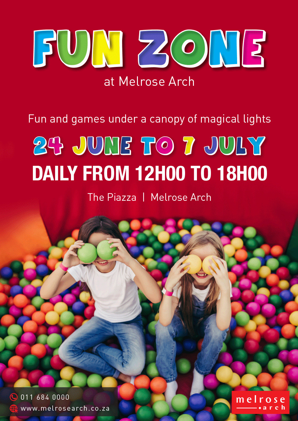 MELROSE ARCH'S FUN ZONE HAS EVERYTHING KIDS WANT THIS HOLIDAY