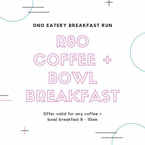 Ono Eatery Breakfast Run