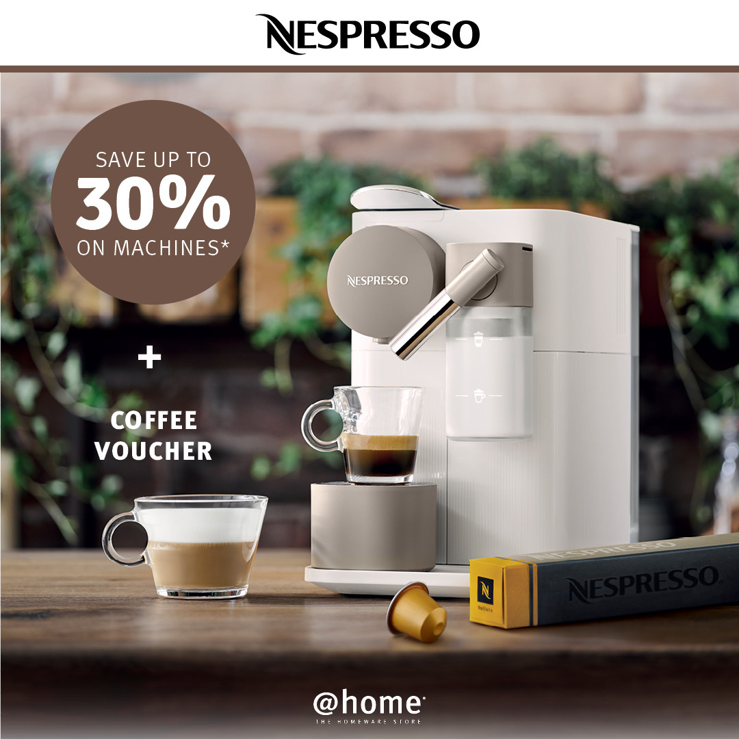 A great offer on Nespresso at @home