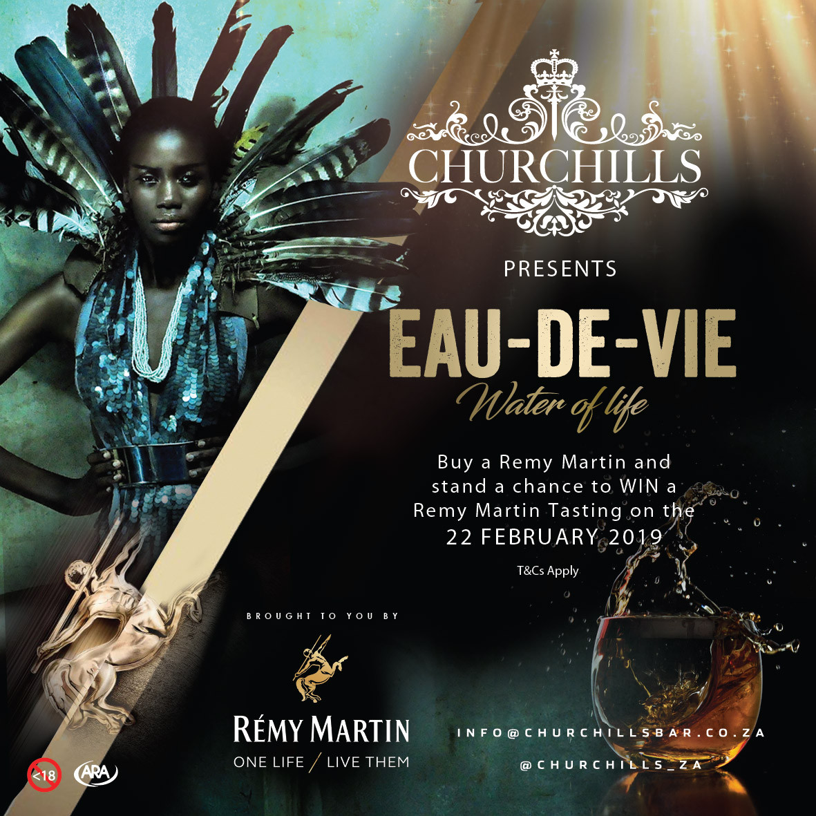 Churchills presents Eau-de-Vie