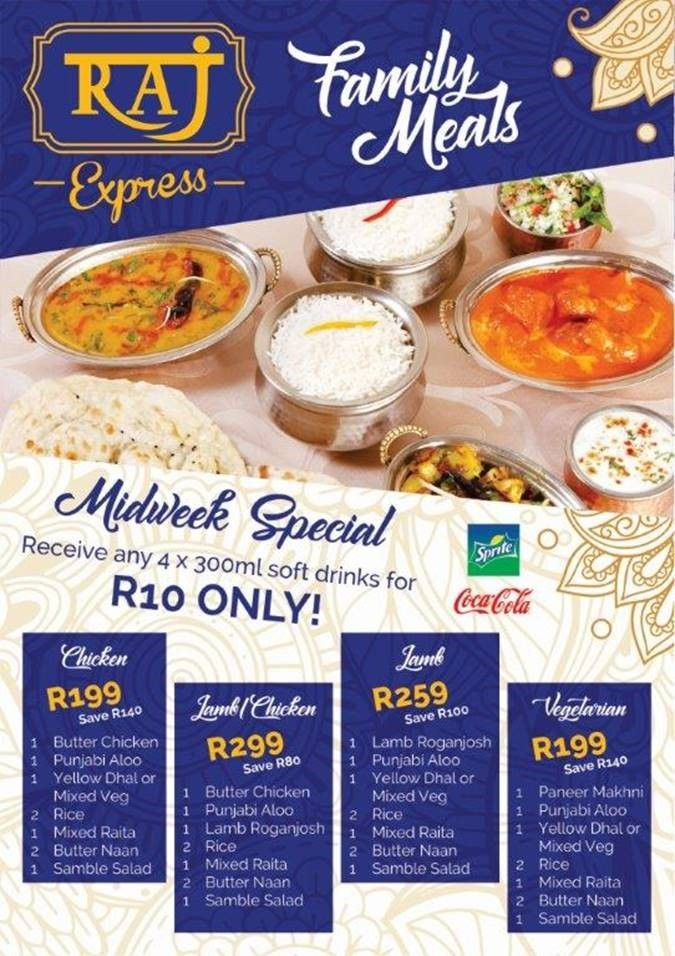 Family Meals Midweek Special