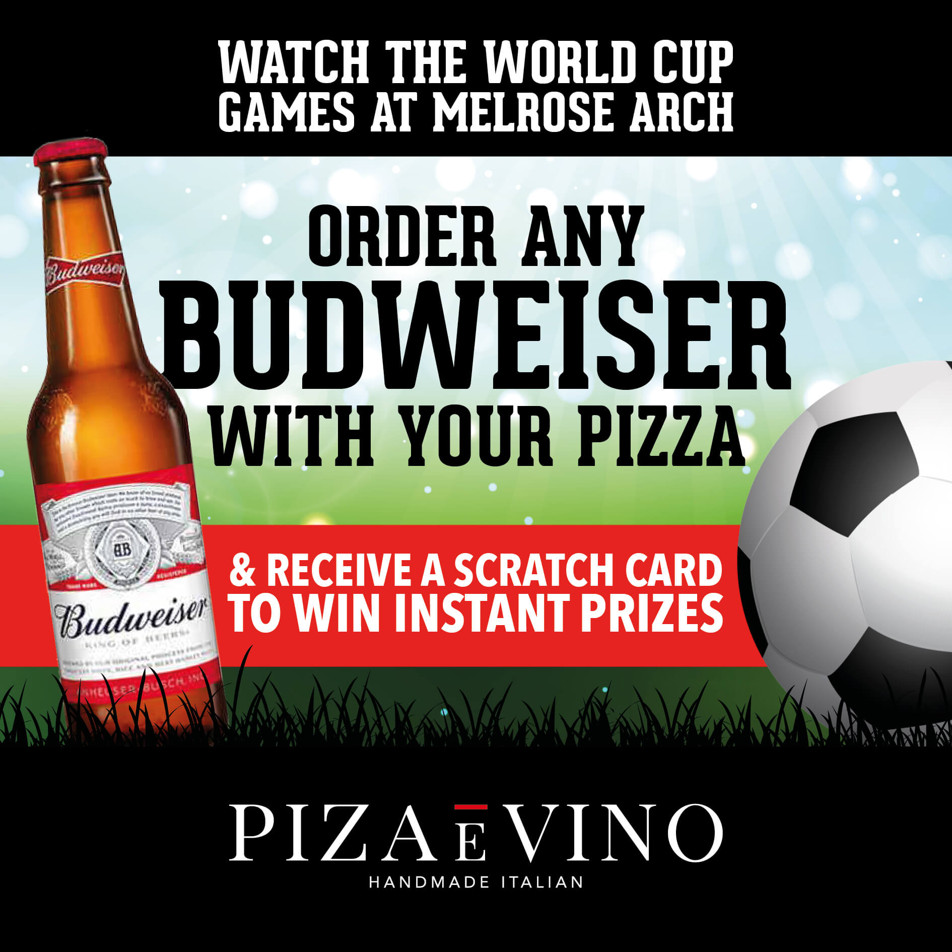 Watch the World Cup at Melrose Arch