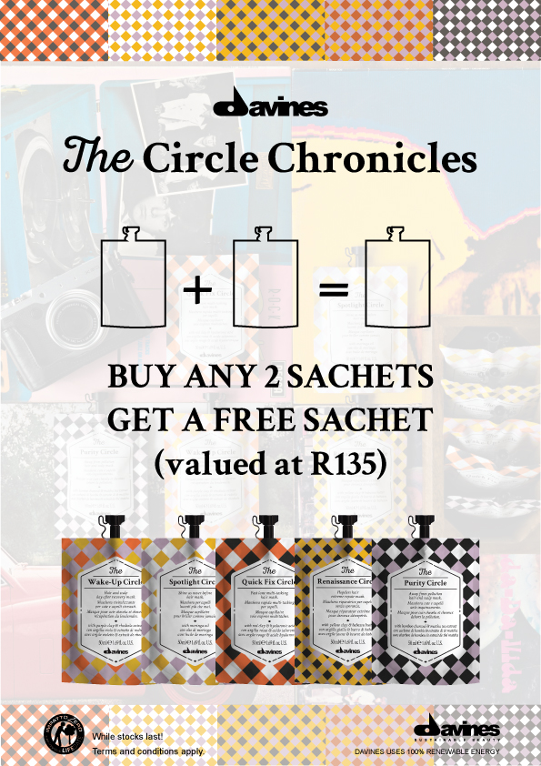 DAVINES THE CIRCLE CHRONICLES LAUNCH PROMOTION
