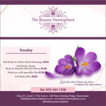 The Beauty Hemisphere promotion