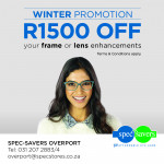 Spec Savers promotion