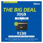 Telkom/Telkom Mobile promotion