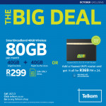 Telkom/Telkom Mobile promotion