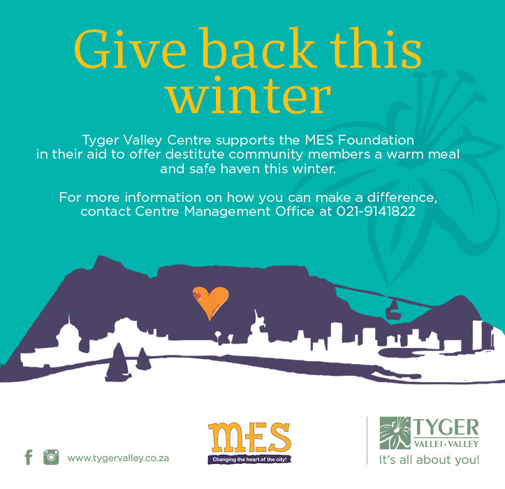Give back this winter