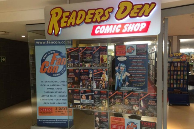 Readers Den Comic Shop