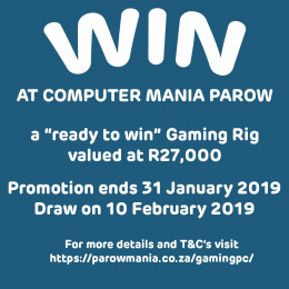 Computer Mania Parow Gaming Rig Competition