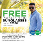 Specsavers promotion