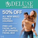 Deluxe Laser & Spa promotion