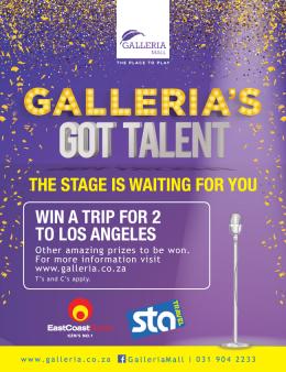 Galleria's Got Talent with East Coast Radio