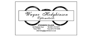Wayne Hodgkinson Optometrists