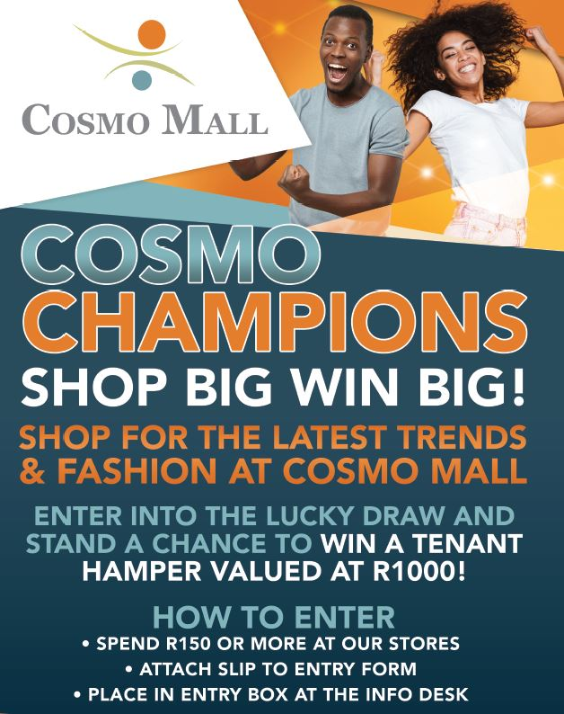 Cosmo Champions Shop Big WIN Big!