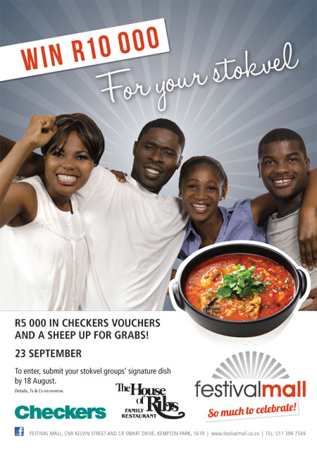 WIN R10 000 For your stokvel